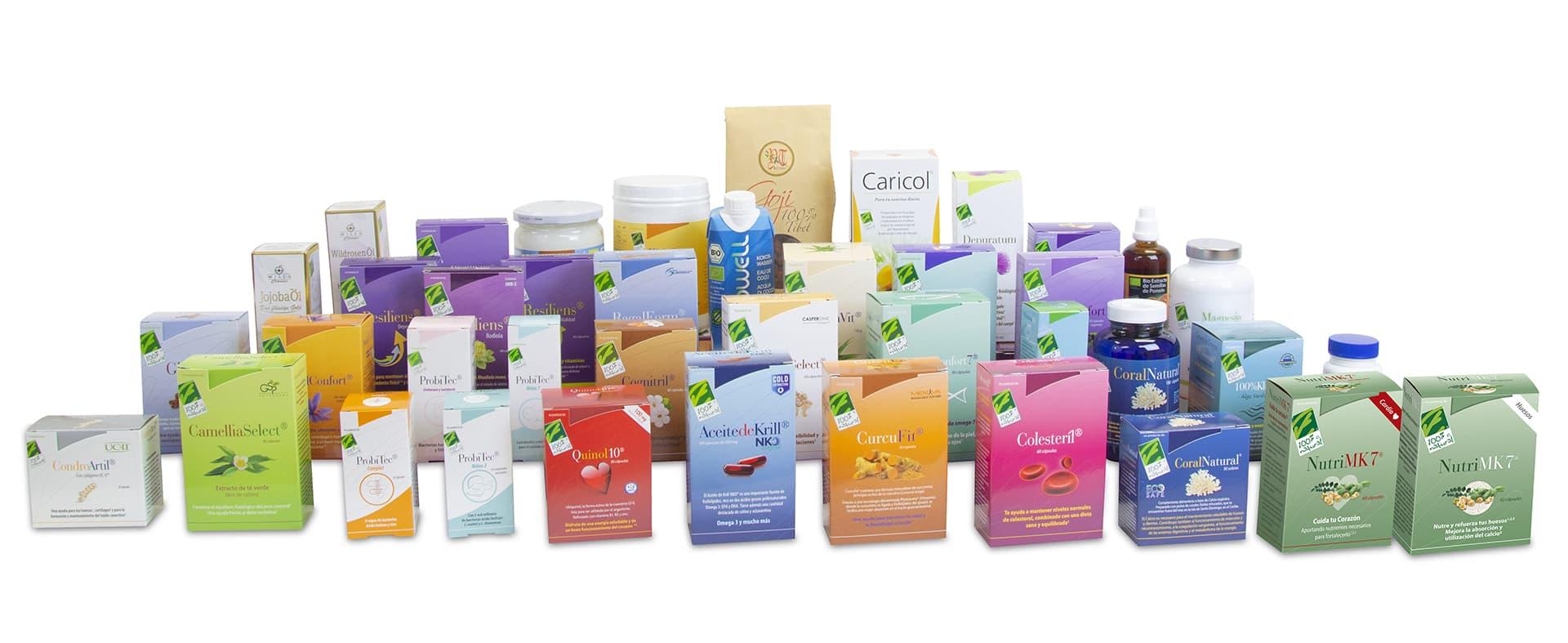 productos 100 por 100 natural