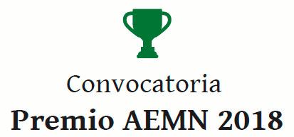 Convocatoria Premio AEMN 2018